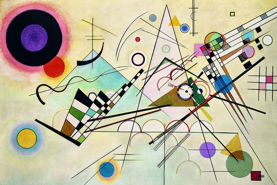Kompozycja VIII Wassily Kandinsky - reprodukcja obrazu na płótnie
