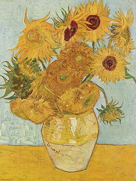 Słoneczniki Vincent van Gogha - reprodukcja obrazu na płótnie