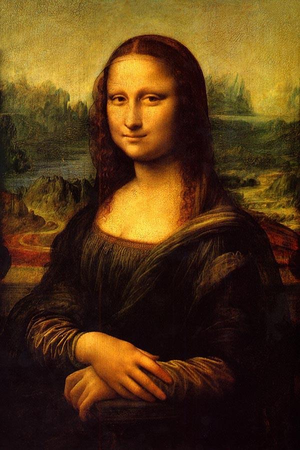 Mona Lisa Leonarda da Vinci - reprodukcja obrazu