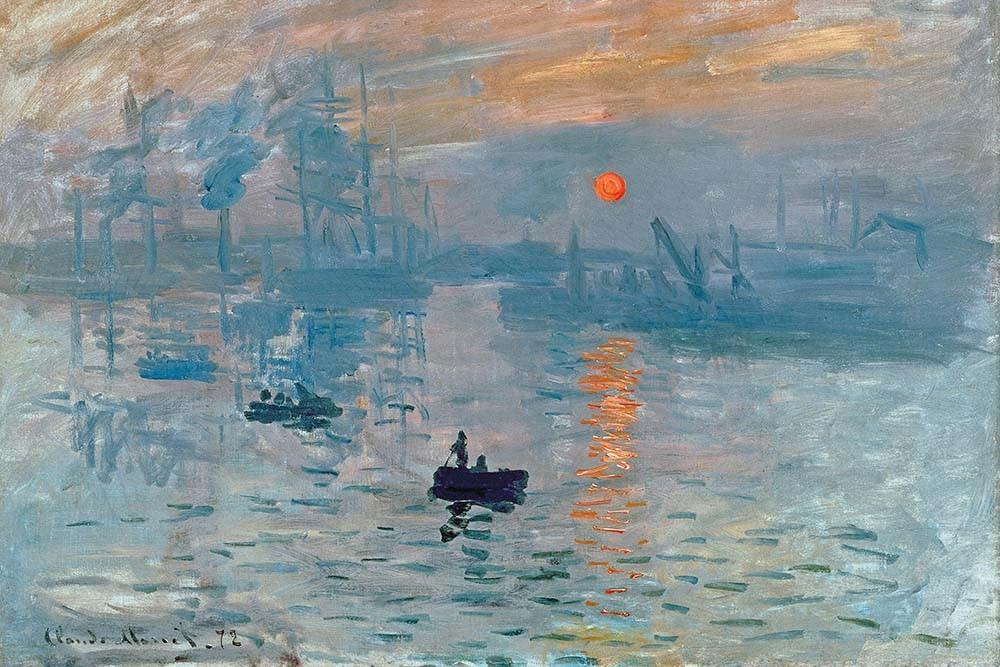 Obraz Impresja Claude Monet - reprodukcja obrazu na płótnie fototapeta, plakat