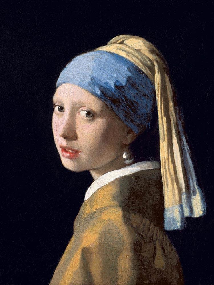 Obraz Dziewczyna z perłą Jan Vermeer - reprodukcja obrazu na płótnie fototapeta, plakat
